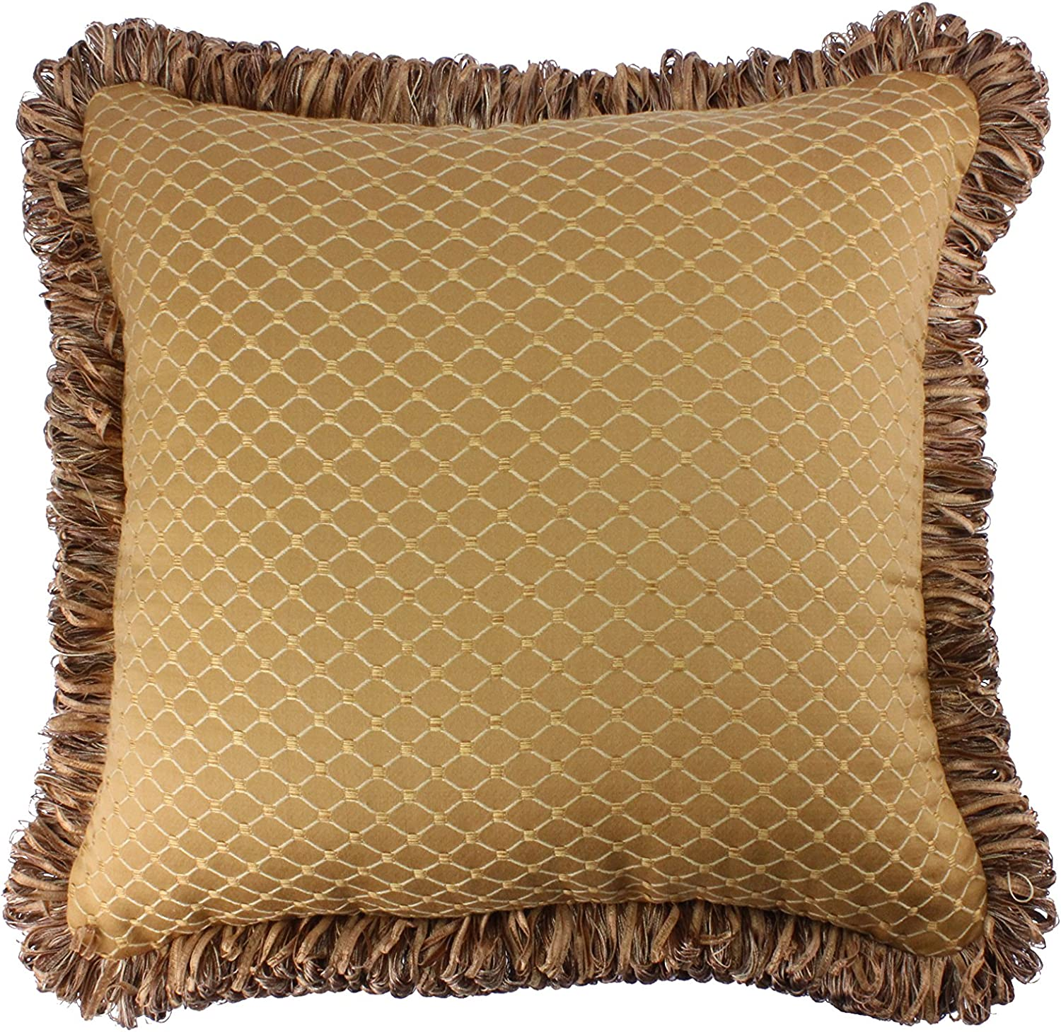 Classic Modern Silk Cushion With Diamond Pattern Design Decorative Couch Bed Throw Pillow Kitchen Dining