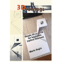 3D Drawings: Simple 3D projects for beginners (optical illusions) (English Edition)