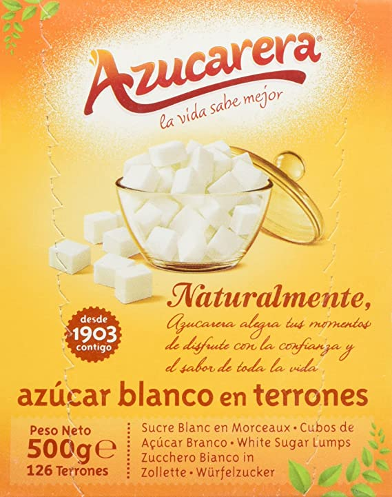 Azucarera - Azucar blanco en terrones, 500g: Amazon.es ...