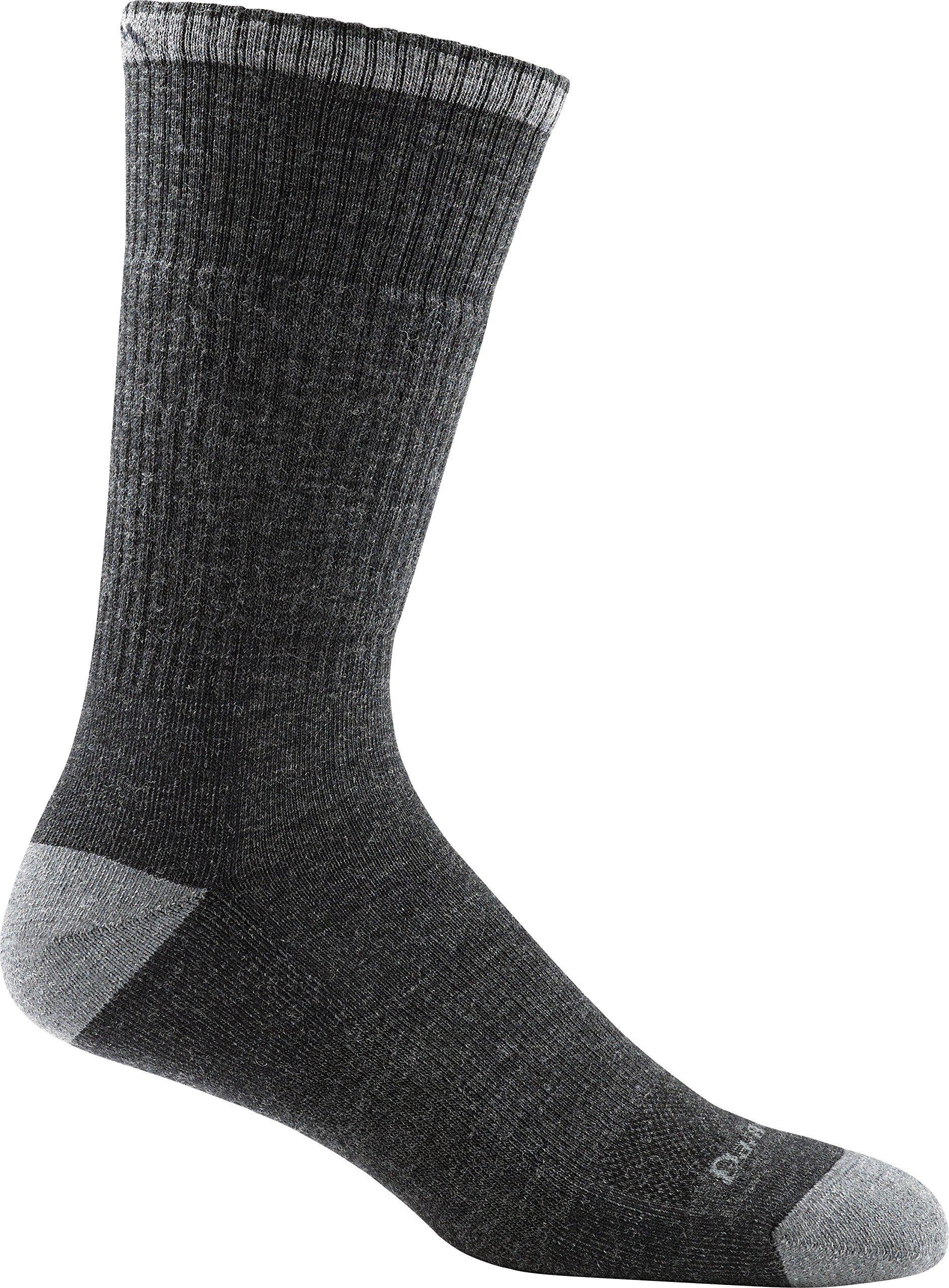 Darn Tough Men's Merino Wool John Henry Boot Sock Cushion - 6 Pack, GRAVEL, LG