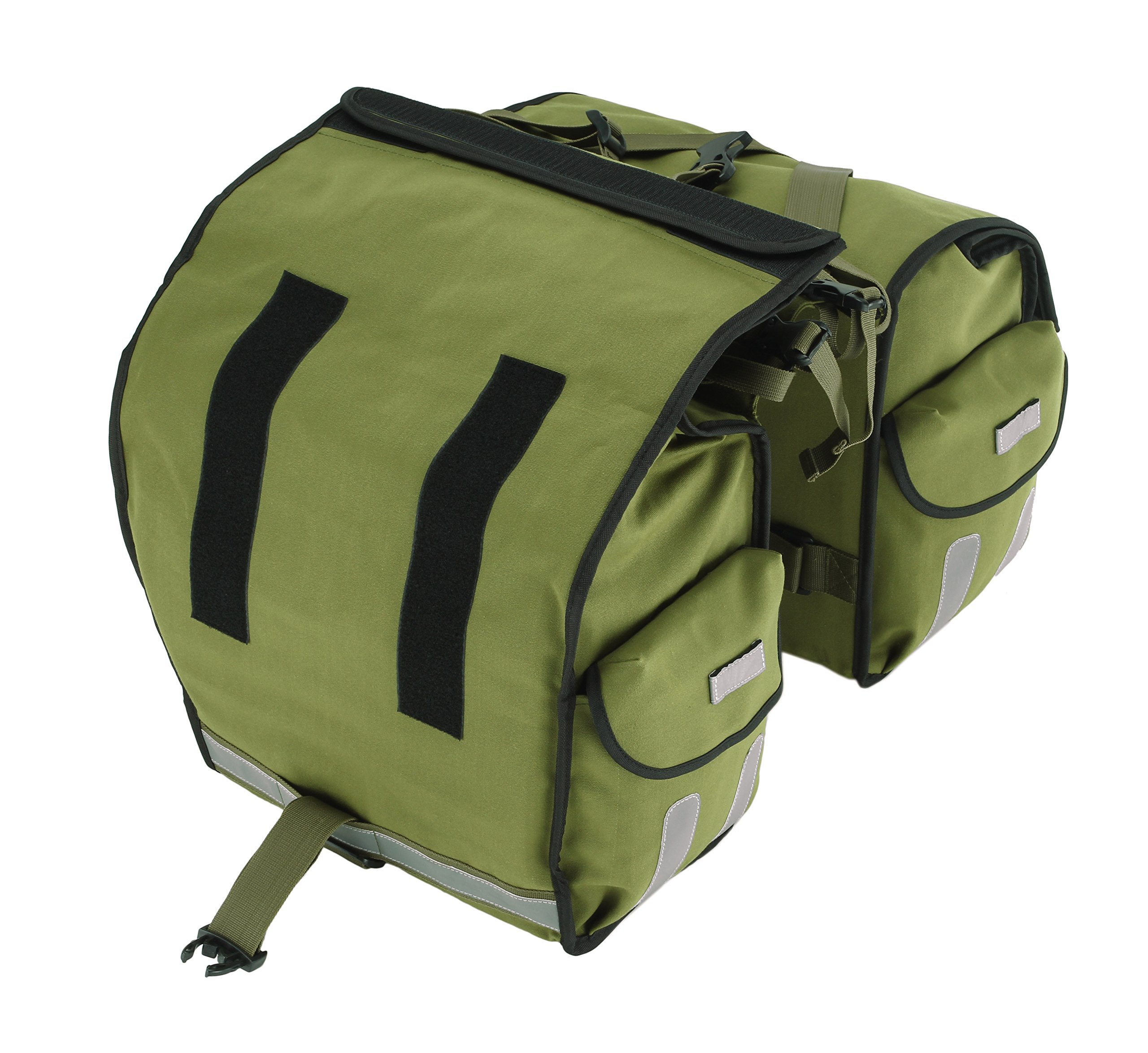 Roswheel 14686 Expedition Series Bike Rear Rack Bag Bicycle Double Panniers Cargo Trunk Bag by Roswheel (Image #7)