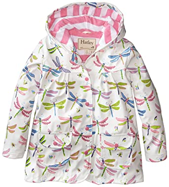 d8ac2f2c815b Amazon.com  Hatley Little Girls  Girls Dragonflies Raincoat  Clothing