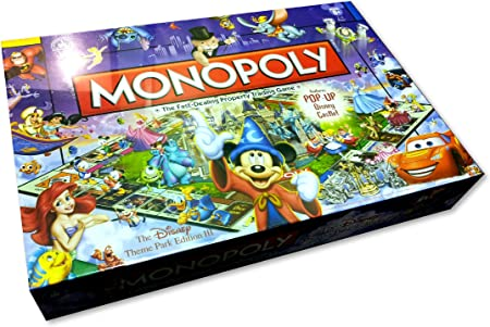 Disney Theme Park Edition III Monopoly Game by Hasbro: Amazon.es: Juguetes y juegos