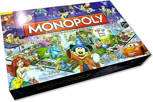 Disney Theme Park Edition III Monopoly Game by Hasbro: Amazon.es: Juguetes y juegos