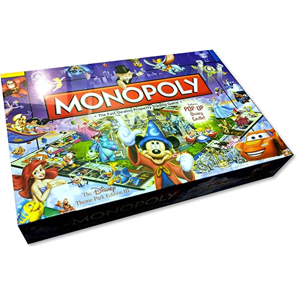 Amazon.com: Mickey Mouse Monopoly - 75th Anniversary ...