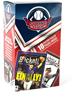 Baseball Cards: 17 Spring Fever Value Add Value Box | 10 Factory Sealed Packs