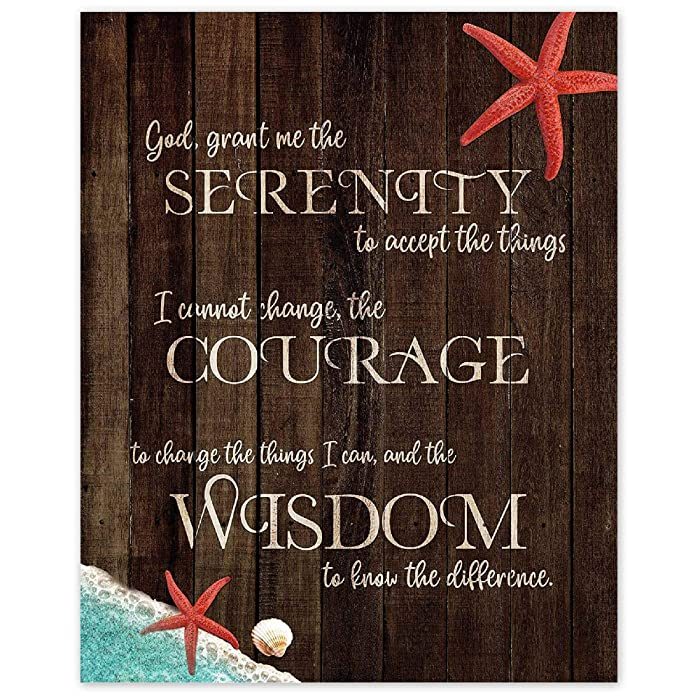 Top 10 Serenity Prayer Poster Nature