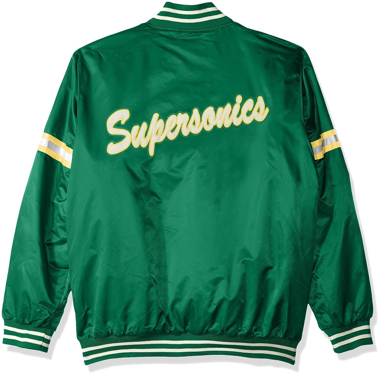 STARTER NBA Mens Legecy Retro Satin Jacket G-III Licensed Apparel LSY40269 aa4b6a310