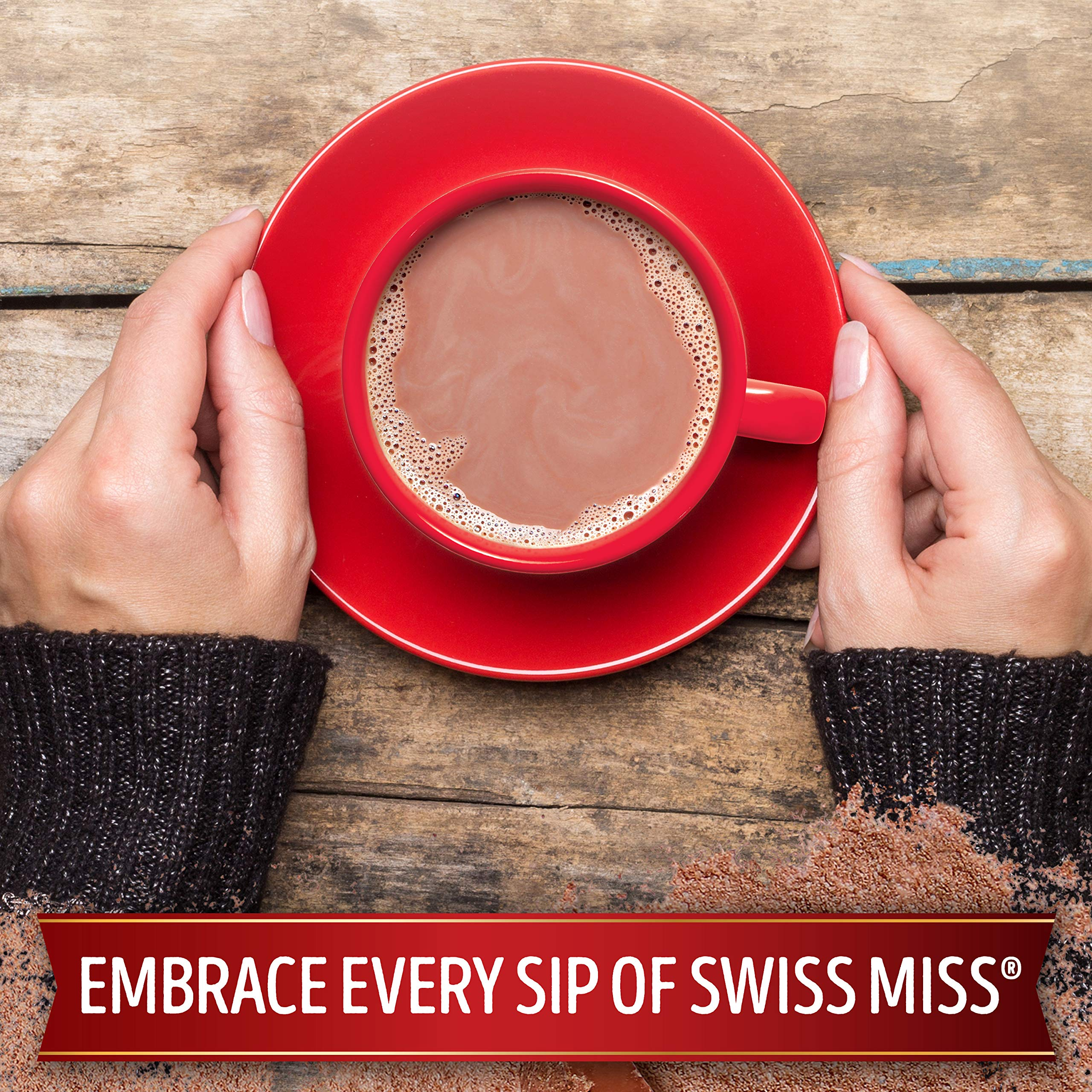 Swiss Miss Milk Chocolate Flavor Hot Cocoa Mix, 11.04 Ounce, 8 Count,(Pack of 12) by Swiss Miss (Image #6)