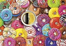Buffalo Games Vivid Coffee and Donuts
