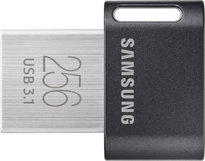 Samsung FIT Plus MUF-256AB/APC - Memoria USB 3.1 (256 GB, Tipo A, 400 MB/s)