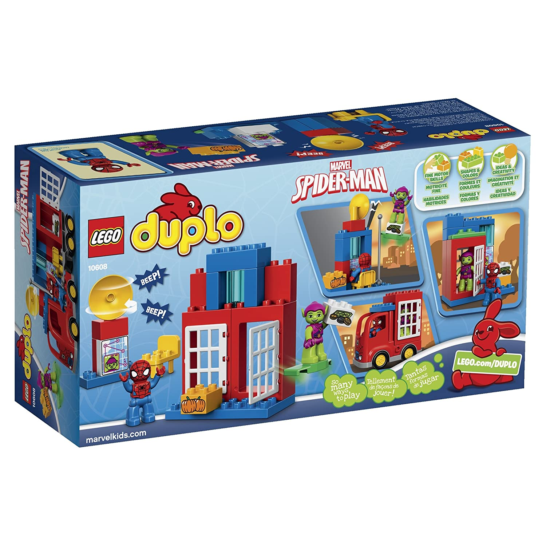 LEGO Super Heroes Spider-Man Spider Truck Adventure Building Kit by LEGO: Amazon.es: Juguetes y juegos