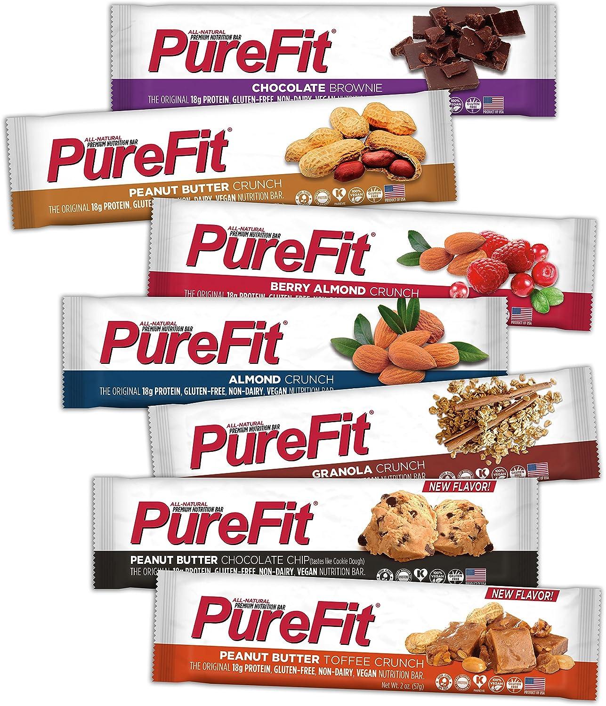 「PUREFIT NUTRITION BARS」の画像検索結果