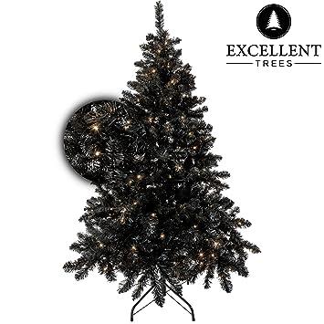 Schwarzer Weihnachtsbaum.Excellent Trees Kunstlicher Weihnachtsbaum Tannenbaum