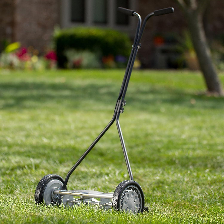 Amazon.com : Great States 415-16 Lawn Mower, 16-Inch, 5-Blade, Silver :  Walk Behind Lawn Mowers : Garden & Outdoor