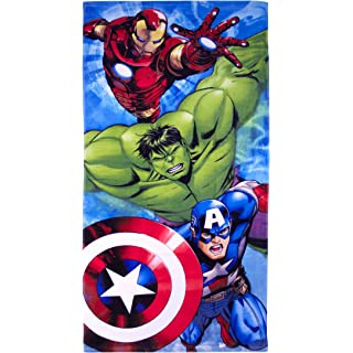 Marvel Avengers Crunch Beach Towel