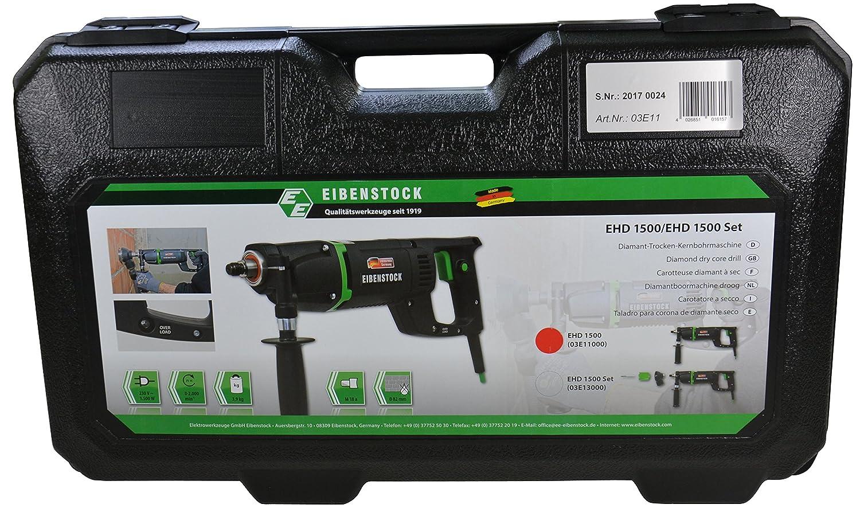 Eibenstock Trockenbohrmaschine EHD1500 inklusive Staubabsaugung /& Diamant Dosensenker Titan W