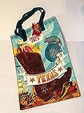 Trader Joe's Reusable Shopping Bag Texas Theme