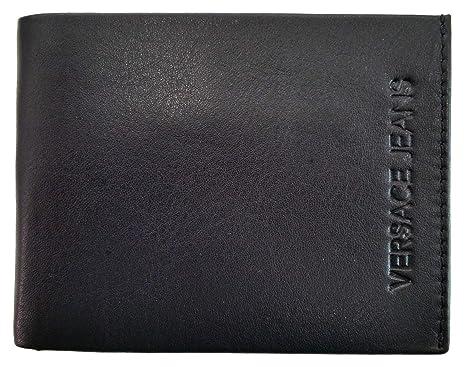 rivenditore di vendita 09dc8 4f2bc portafoglio uomo VERSACE Jeans in pelle - 70772 E3YSBPF5 ...