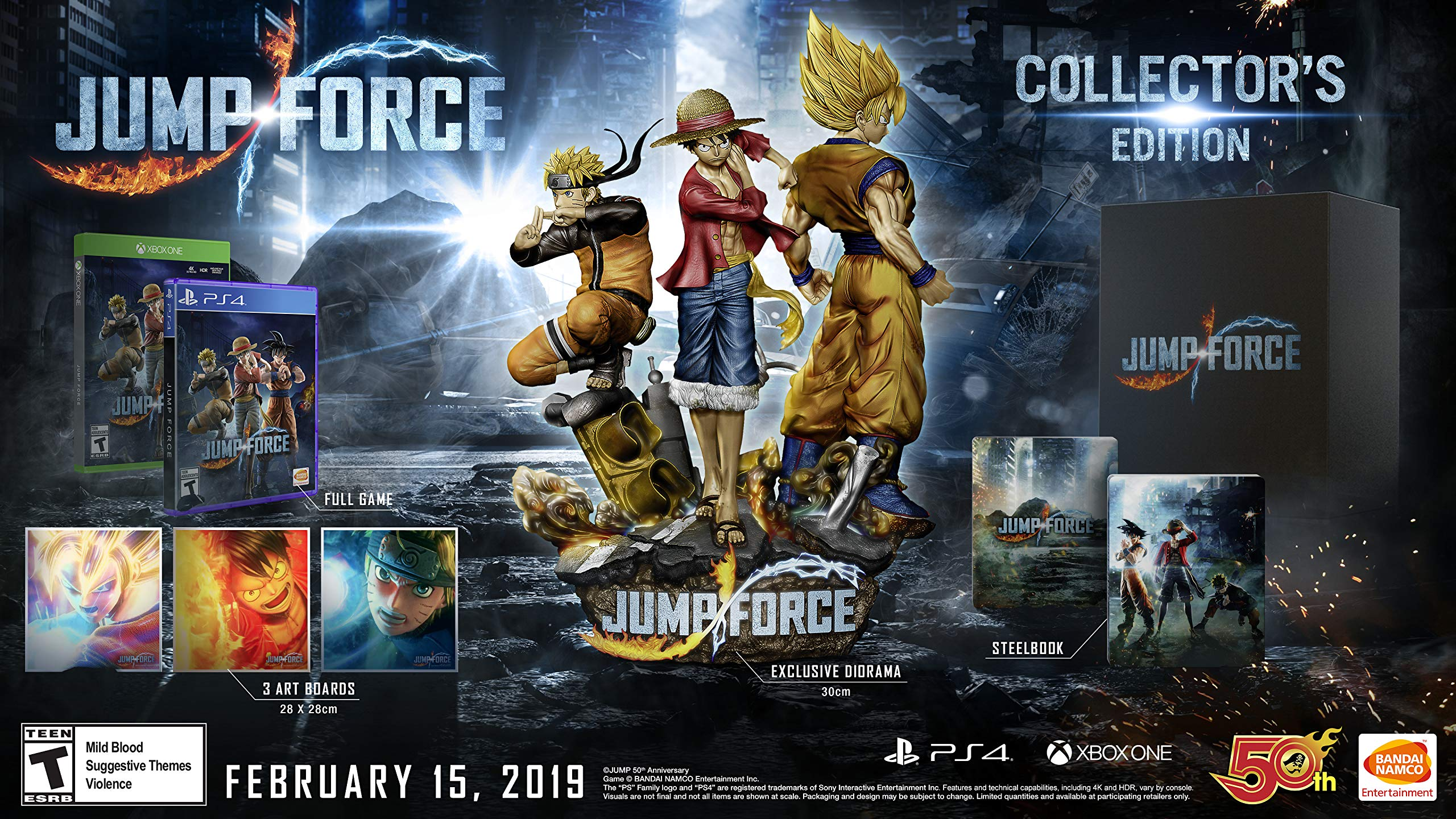 Jump Force - PlayStation 4 Collector's Edition