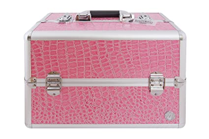 Cajas de belleza San Remo Rosa Croc Maquillaje y Funda