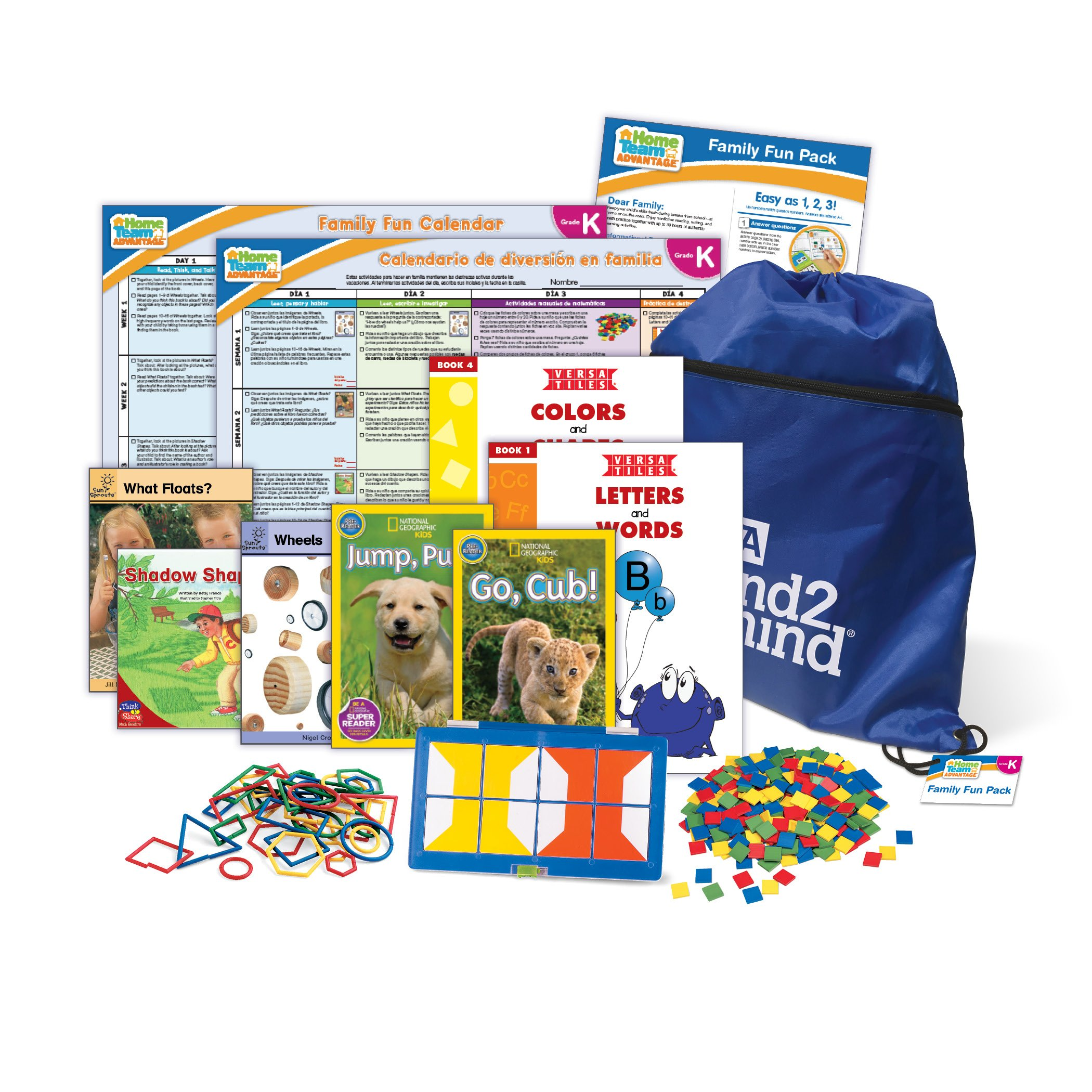 ETA hand2mind Summer School Pack - Kindergarten