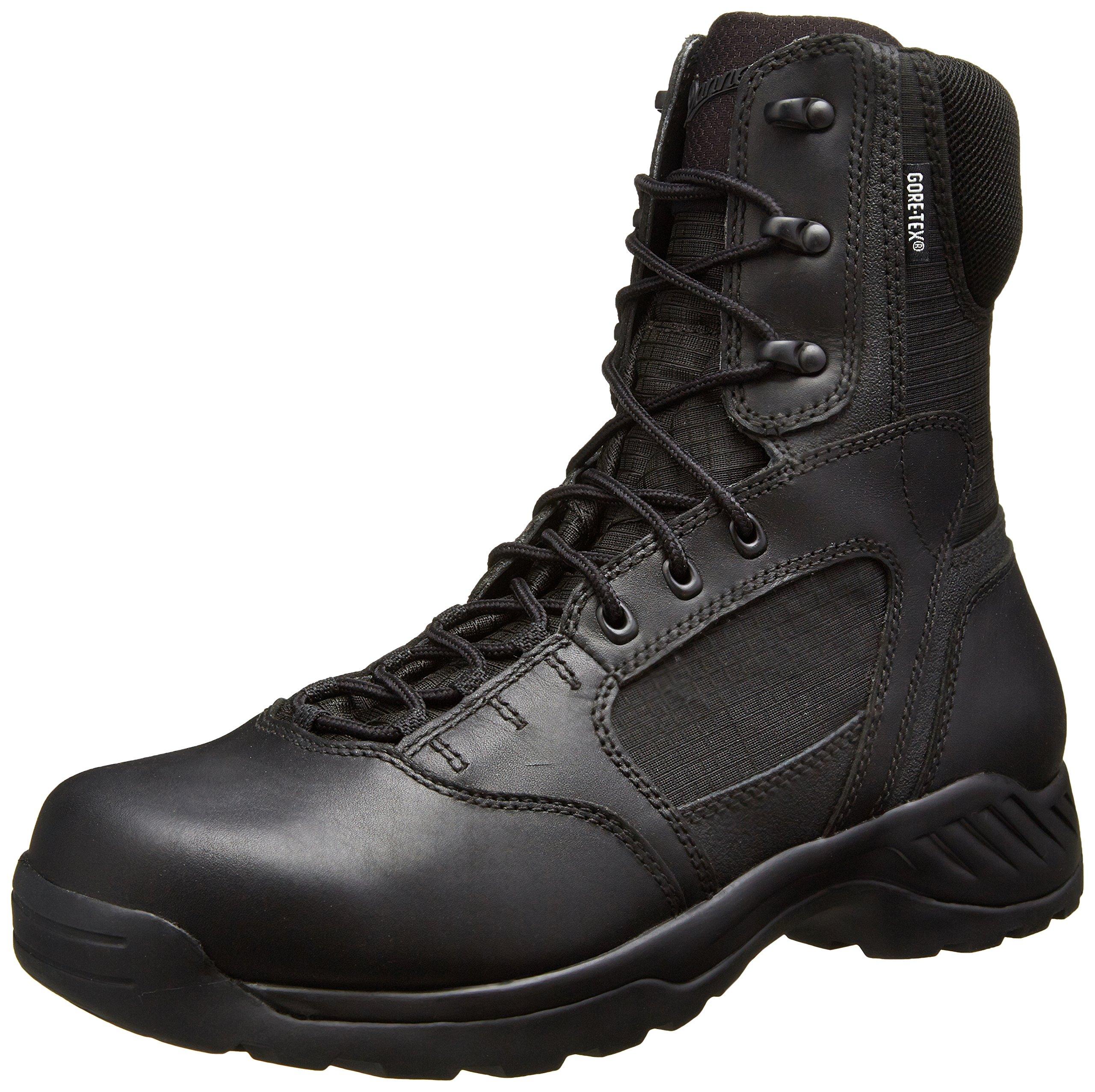 "Danner Men's Kinetic 8"" GTX Uniform Boot, Black, 10.5 D US"