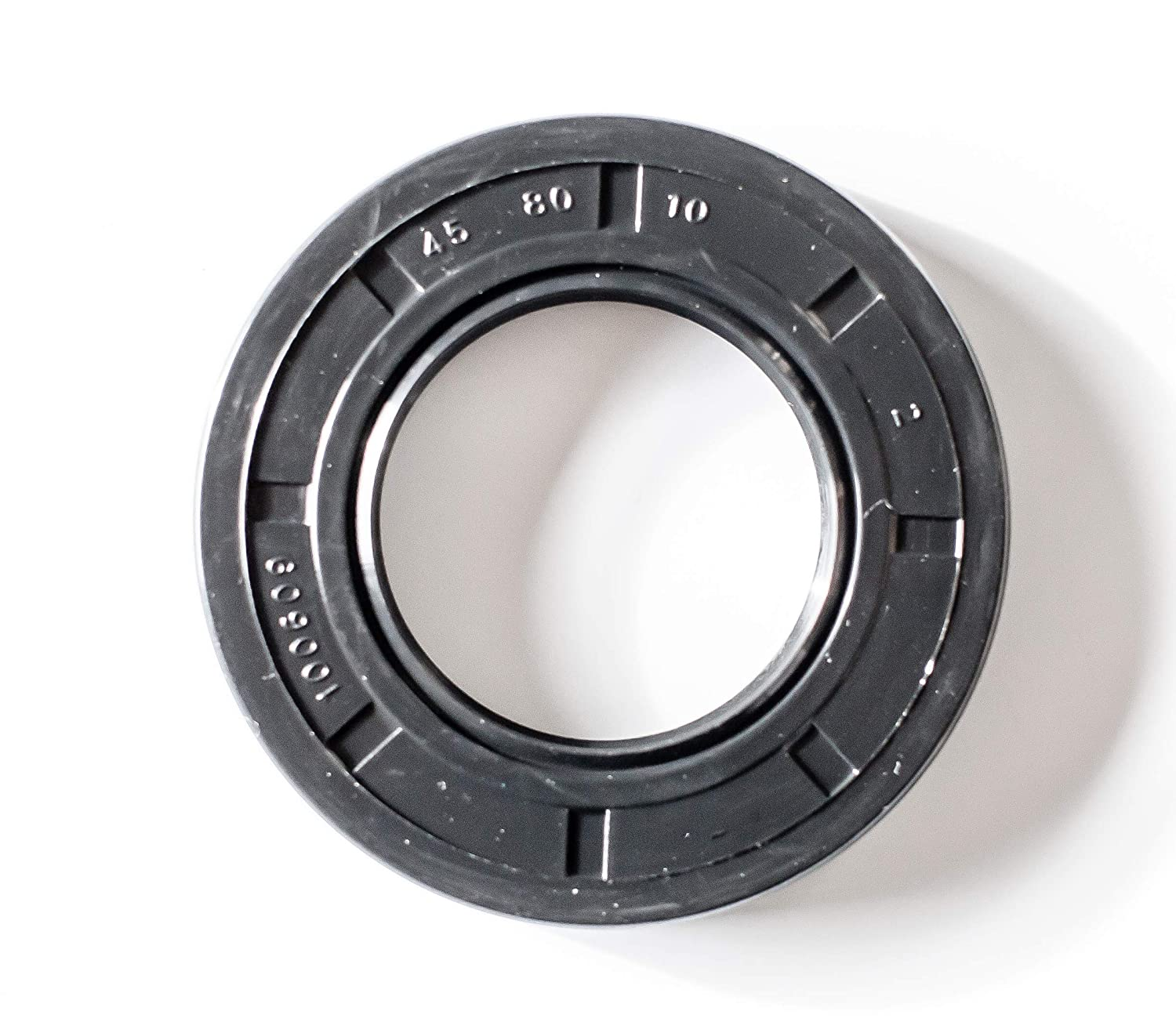 100mmX120mmX10mm Oil Seal 100X120X10 Oil Seal Grease Seal TC  EAI Double Lip w//Garter Spring Single Metal Case w//Nitrile Rubber Coating 3.937x4.724x0.394