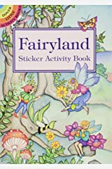 Fairyland Sticker Activity Book (Dover Little Activity Books Stickers) Paperback