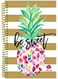 """bloom daily planners 2017-18 Academic Year Daily Planner - Passion/Goal Organizer - Monthly and Weekly Datebook and Calendar - August 2017 - July 2018 - 6"""" x 8.25"""" - Pineapple"""