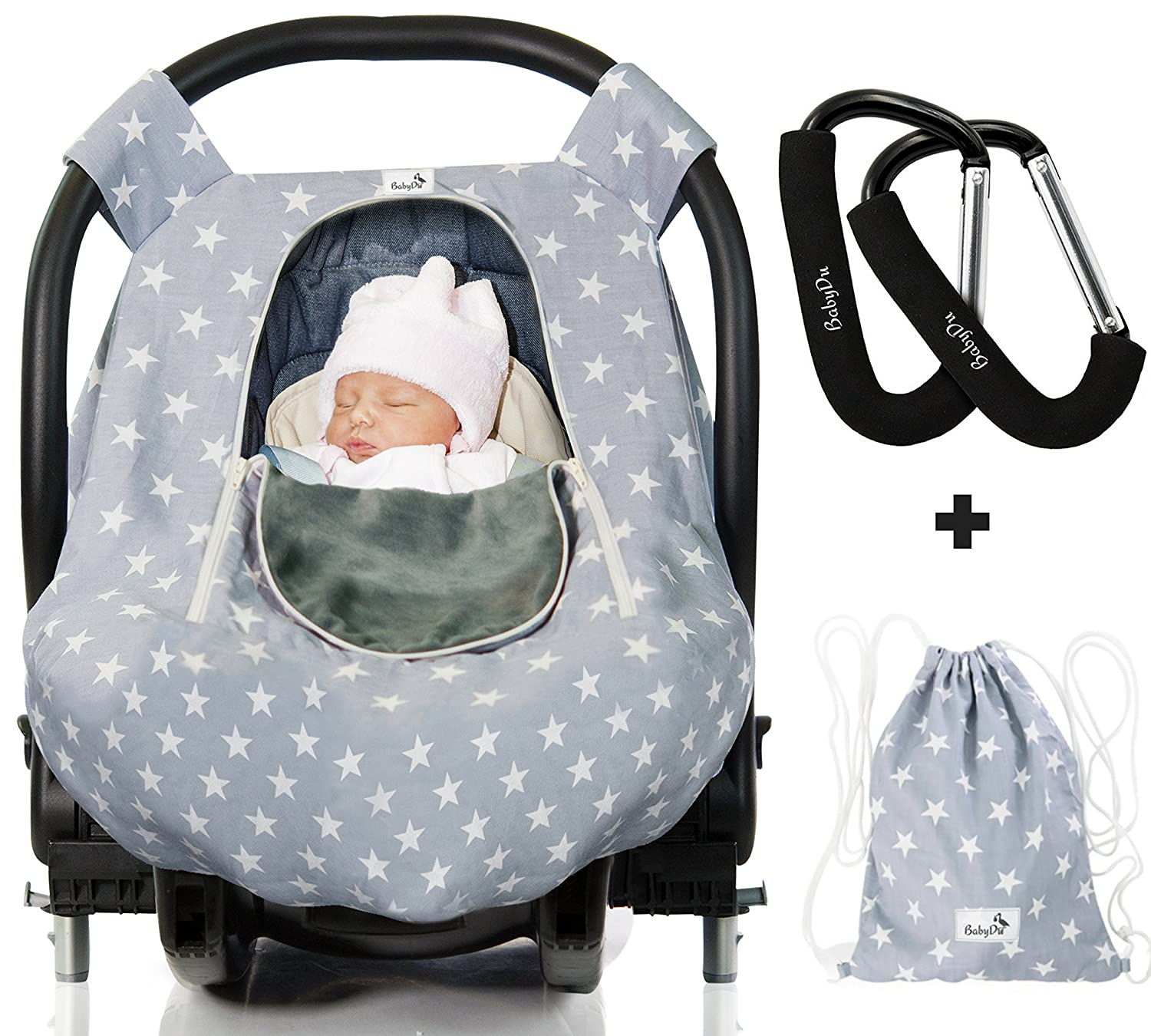 Astounding Luxurious Baby Car Seat Cover For Boys And Girls For Spring Summer Autumn Winter Windproof Universal Dailytribune Chair Design For Home Dailytribuneorg