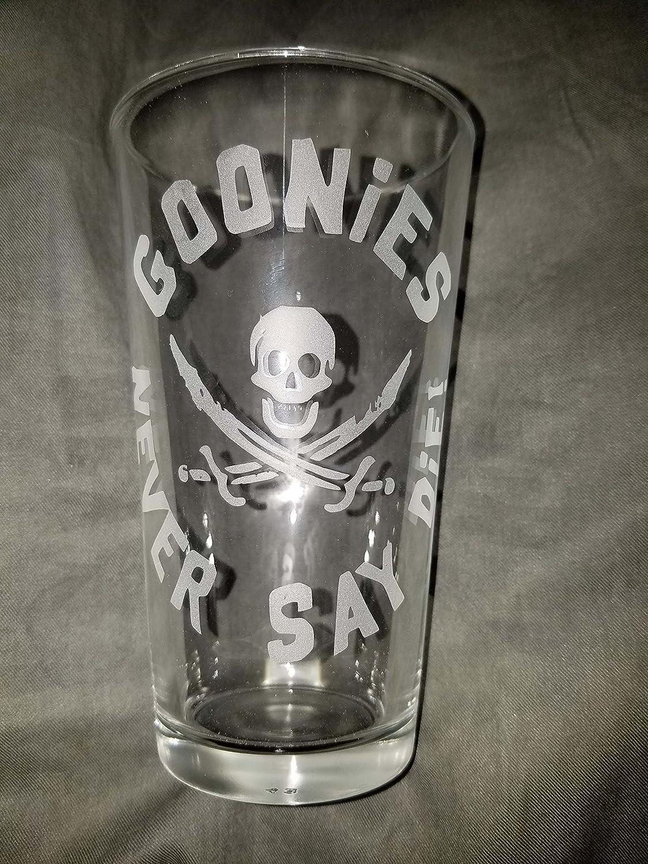 Goonies Never Say Die! Set of 2 Pint Glasses