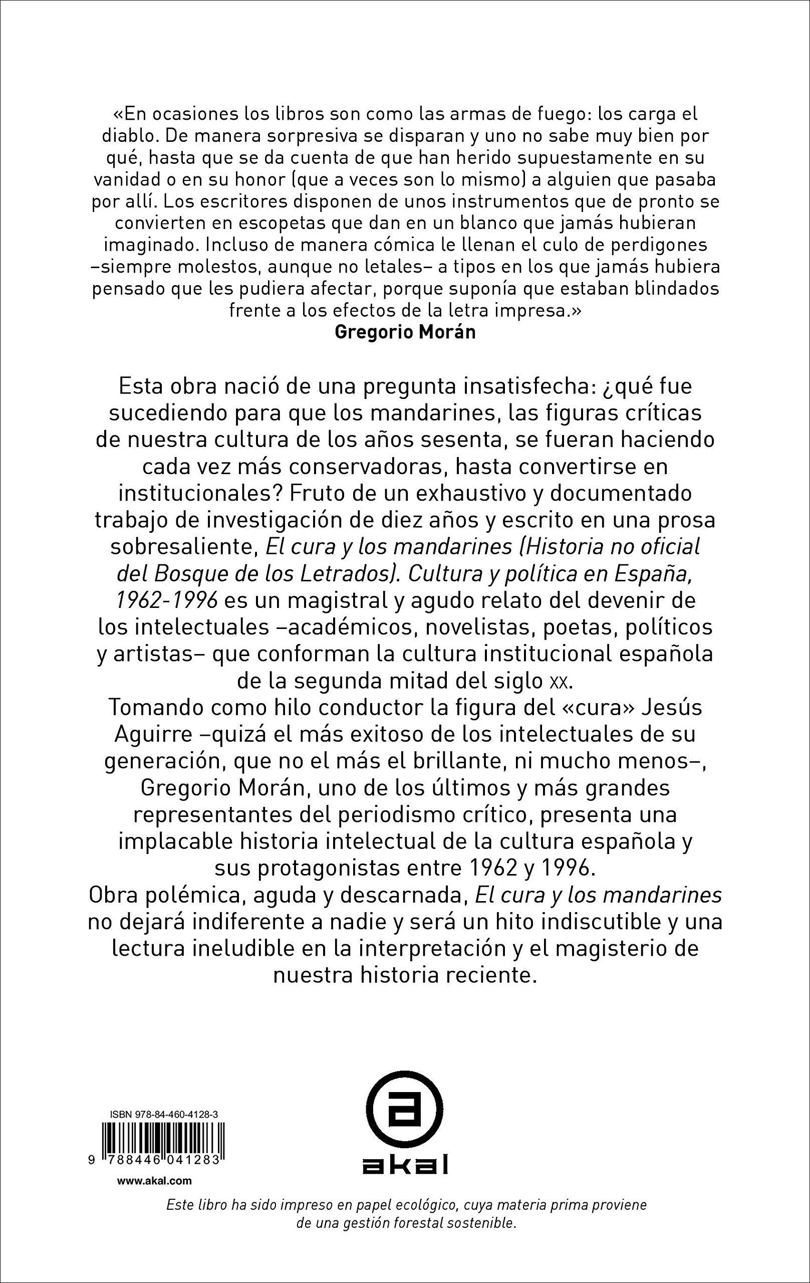El cura y los mandarines Historia no oficial del Bosque de los ...