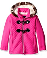 Limited Too Girls' Quilted Fleece Toggle Jkt