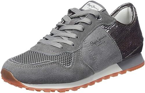 Pepe Jeans Verona W New Sequins, Zapatillas para Mujer: Amazon.es: Zapatos y complementos