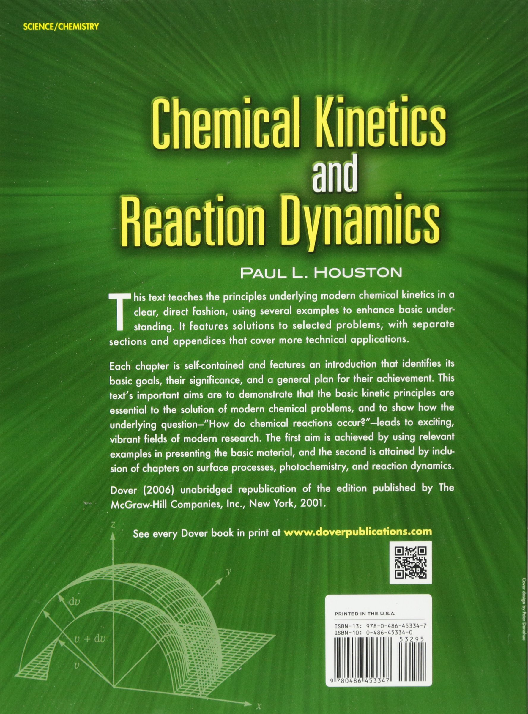 chemical kinetics and reaction dynamics dover books on chemistry rh amazon de chemical kinetics and reaction dynamics houston solution manual Chemical Kinetics GIF