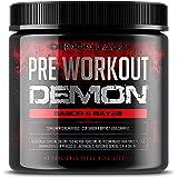 Pre Workout Demon (Sabor Frutas del Bosque) - Suplemento Potente pre-Entreno con Creatina, Cafeína, Beta-Alanina y…