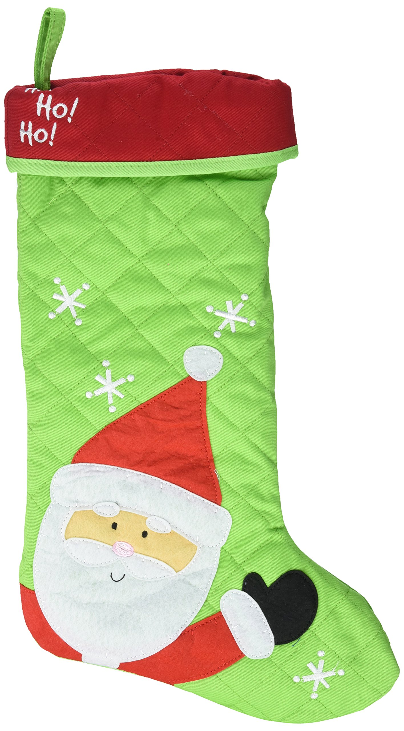 Stephen Joseph Christmas Stocking Stuffer, Santa, One Size
