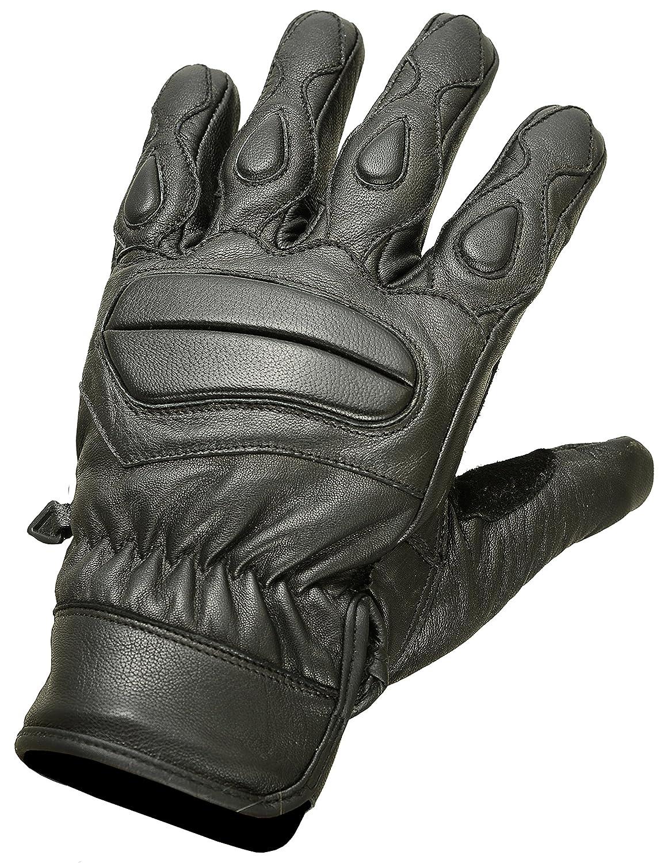 Mens leather gloves amazon uk - Short Padded Leather Motorcycle Gloves Soft Leather M Amazon Co Uk Clothing