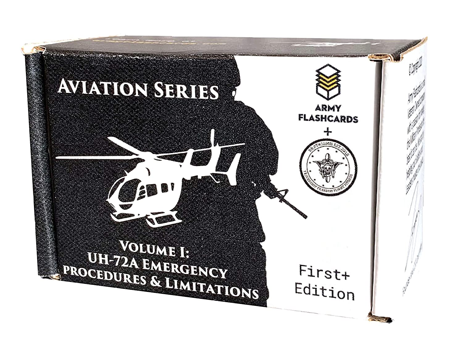Army Flashcards- UH-72A Lakota Helicopter Emergency Procedures and Limitations Perfect for US Army Flight School Every Procedure and Limitation and Associated Warning and Caution Made in USA