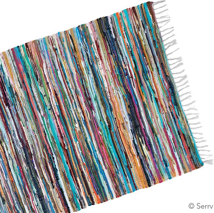 Eco Friendly - Bright Rag Rug