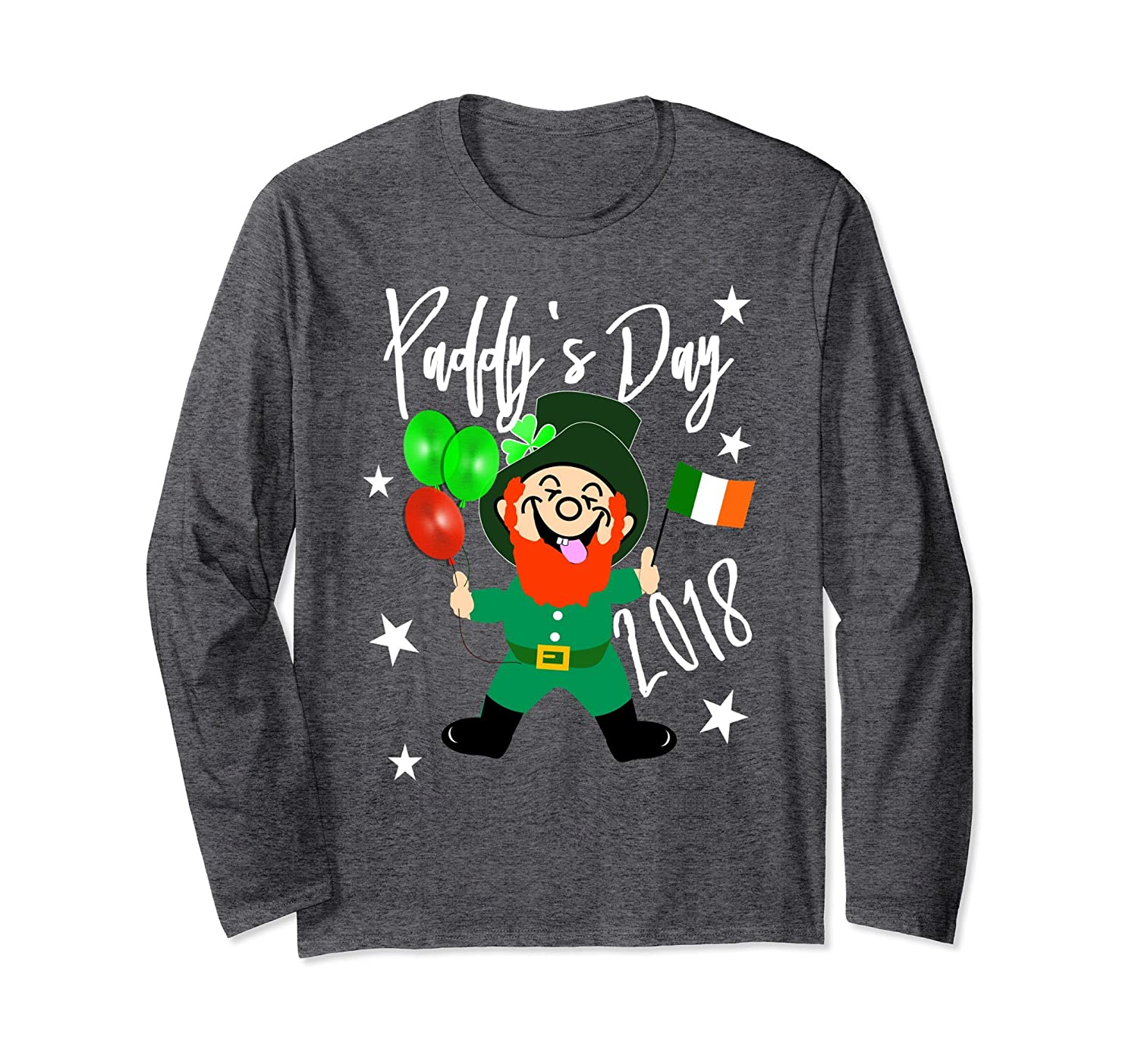 2018 Paddy's Day Fun Leprechaun Novelty Party Shirts