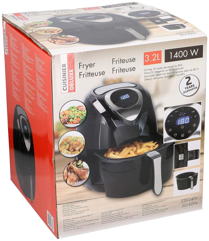 Cuisinier Deluxe 8711252068664 Aire-Freidoras sin Aceite-3,2 ...