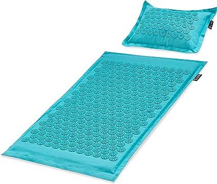 Relieve Relax Muscles Yoga Mat Mat Acupressure Mat Massage Mat and Pillow Set Yoga Mat Relieve Back Neck and Sciatic Pain