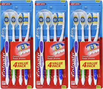 12-Pack Colgate Extra Clean Full Head Toothbrush (Medium)