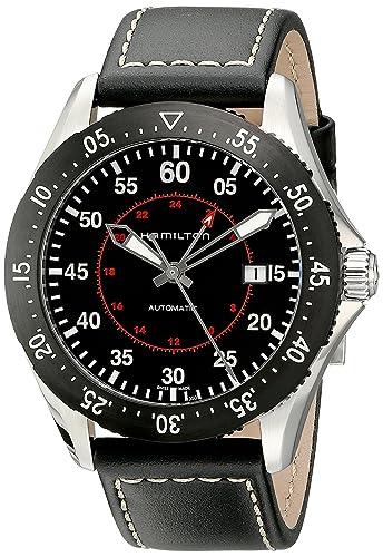 HAMILTON KHAKI AVIATION RELOJ DE HOMBRE AUTOMÁTICO 44MM H76755735: Amazon.es: Relojes