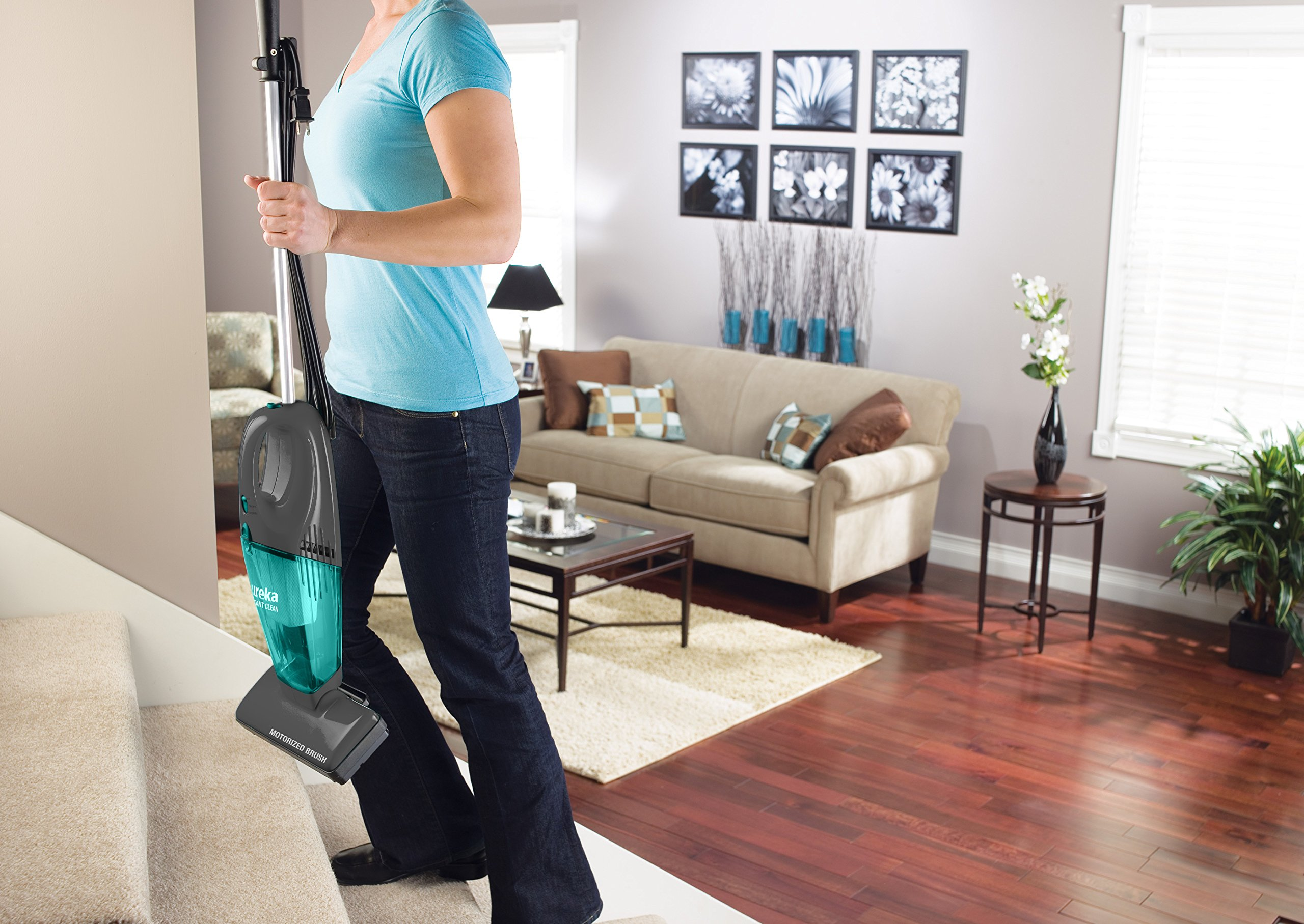 Eureka 2-in-1 Stick & Hand Vacuum, Lightweight Rechargeable Cordless Vacuum Cleaner,Instant Clean 95A by Eureka (Image #4)