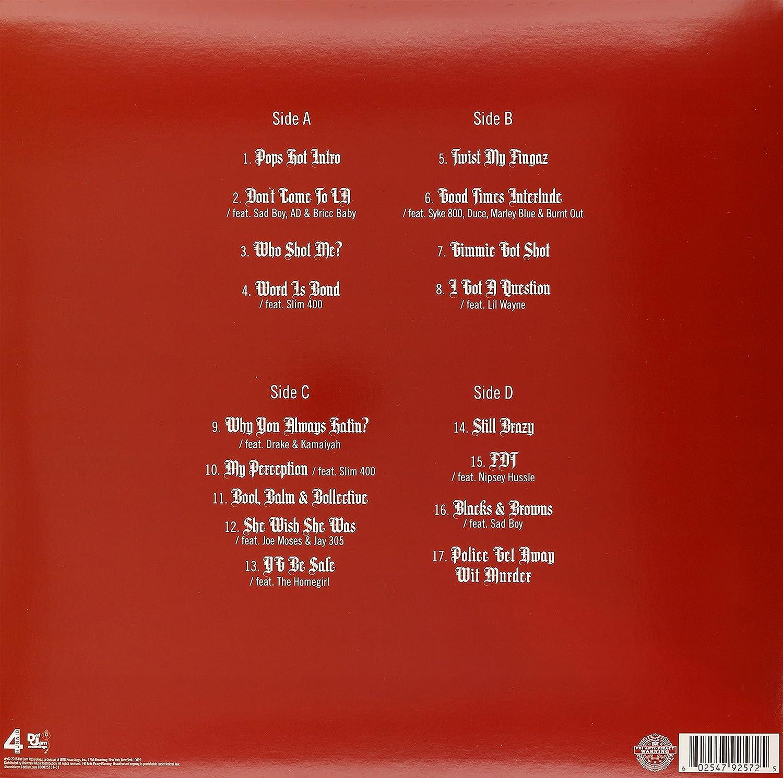 amazon still brazy analog yg ヒップホップ一般 音楽
