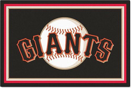 Best living room rug: FANMATS San Francisco Giants 5×8 ft Rug