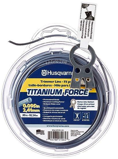 Amazon.com: Husqvarna 639005101 - Cuerda de titanio para ...